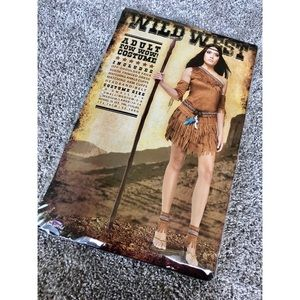 "Other - NWT Adult ""Pow Wow"" Wild West Halloween Costume"